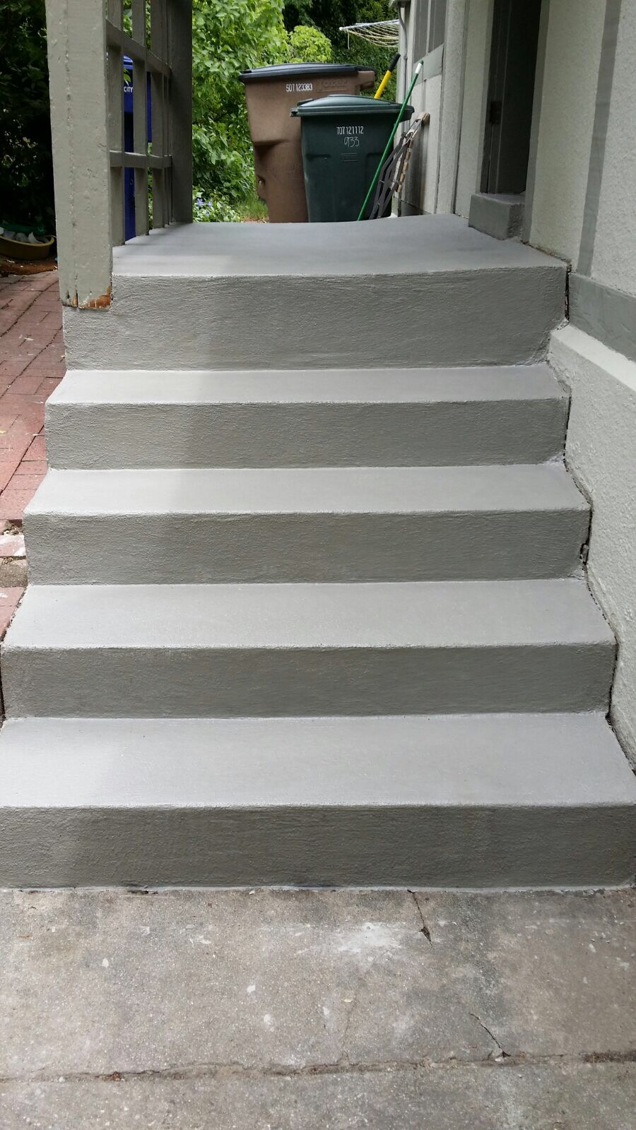 Concrete Stairs After Resurfacing