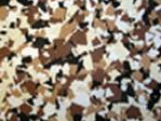 autumn brown - Color Flake Concrete Coatings Utah