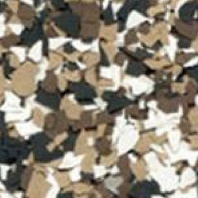 dark earth tone - Color Flake Concrete Coatings Utah