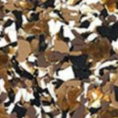dark earth tone sparkle - Color Flake Concrete Coatings Utah