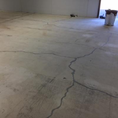 before concrete coating utah