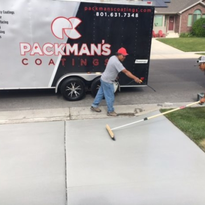 concrete coating project utah