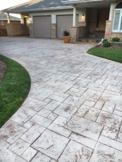 before concrete coating outdoor