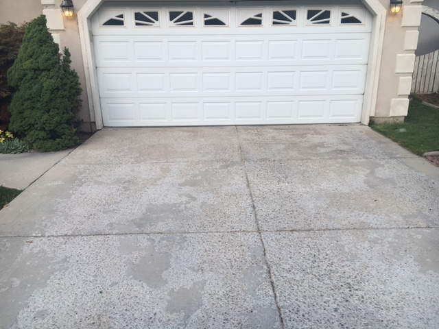 before and after concrete resurfacing utah