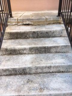 before concrete coating stairs utah