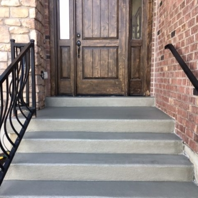 after concrete coating stairs riverton utah