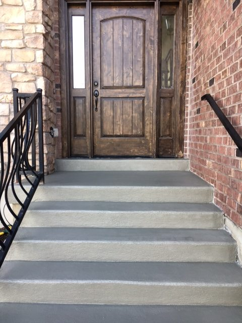after concrete coating stairs riverton utah