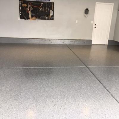after concrete coating indoor utah