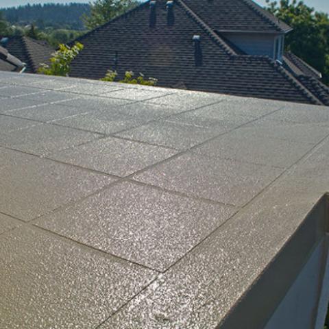 concrete waterproof decking project in utah