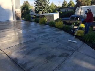 rolling concrete sealing