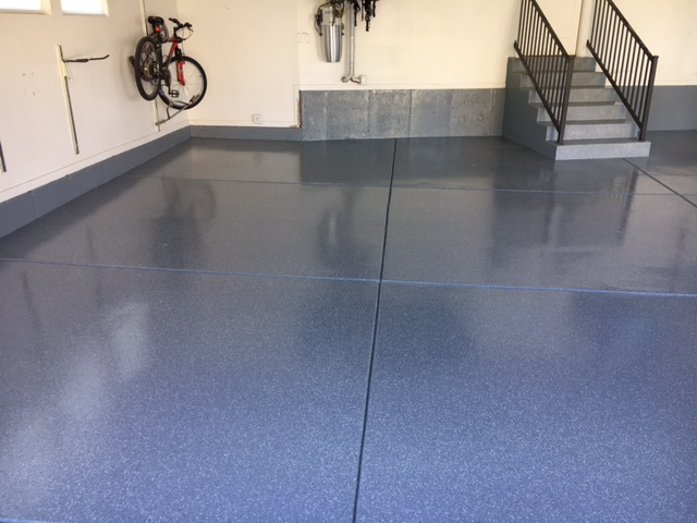 After Garage Epoxy Coating