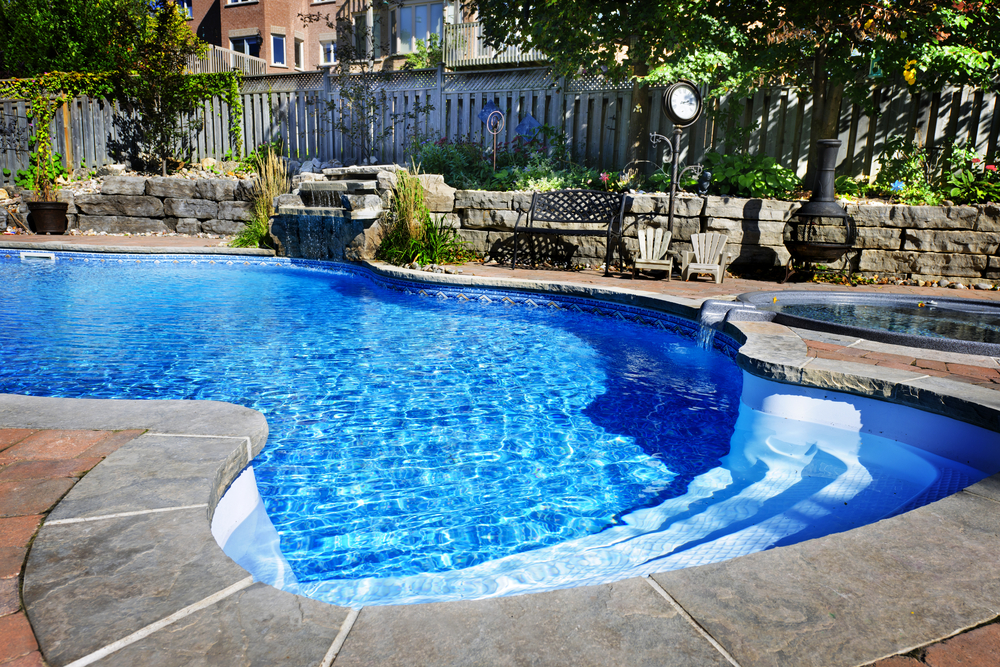Finished Concrete Makes Your Pool Look Good